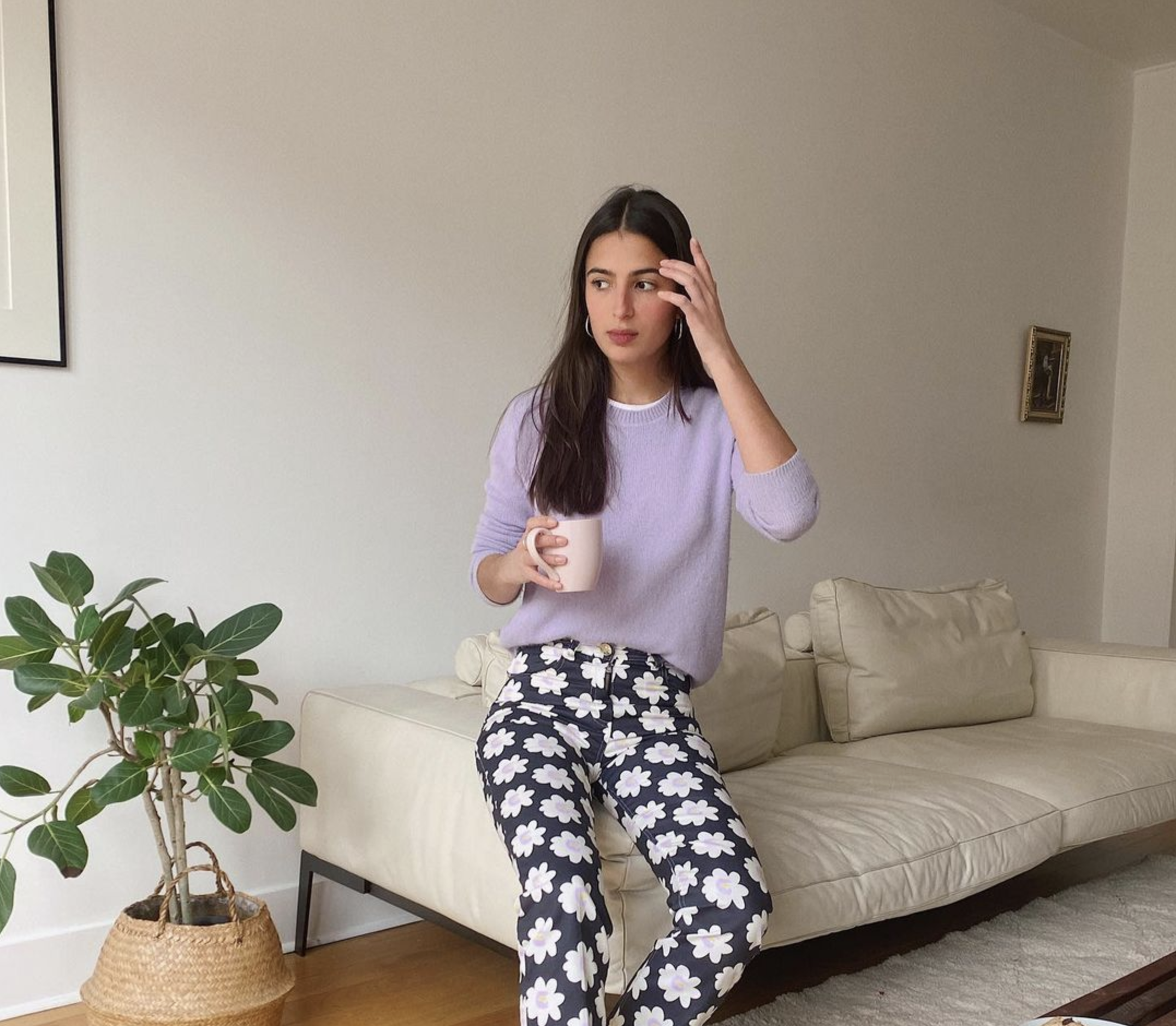 Shop balou pant, photo from influencer campain